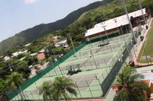 Cancha de Tenis Casa de Italia de Maracay